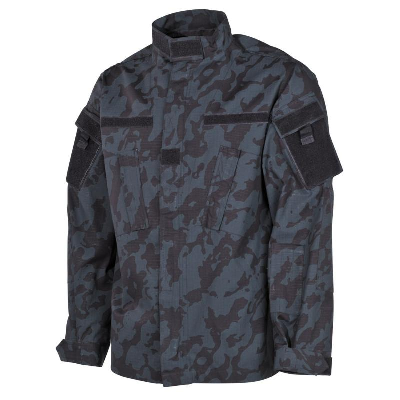 Яке US Field Jacket ACU, Rip Stop, night-camo